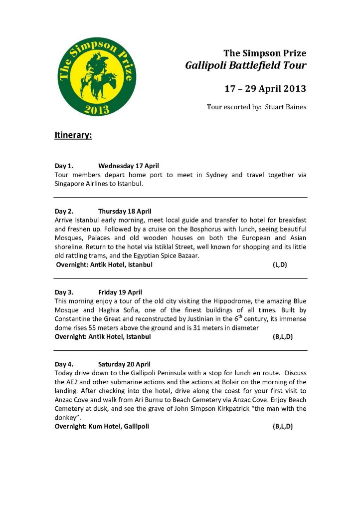 Simpson Prize 2013 - Itinerary FINAL_Page_1