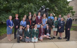 2019 Simpson Prize students